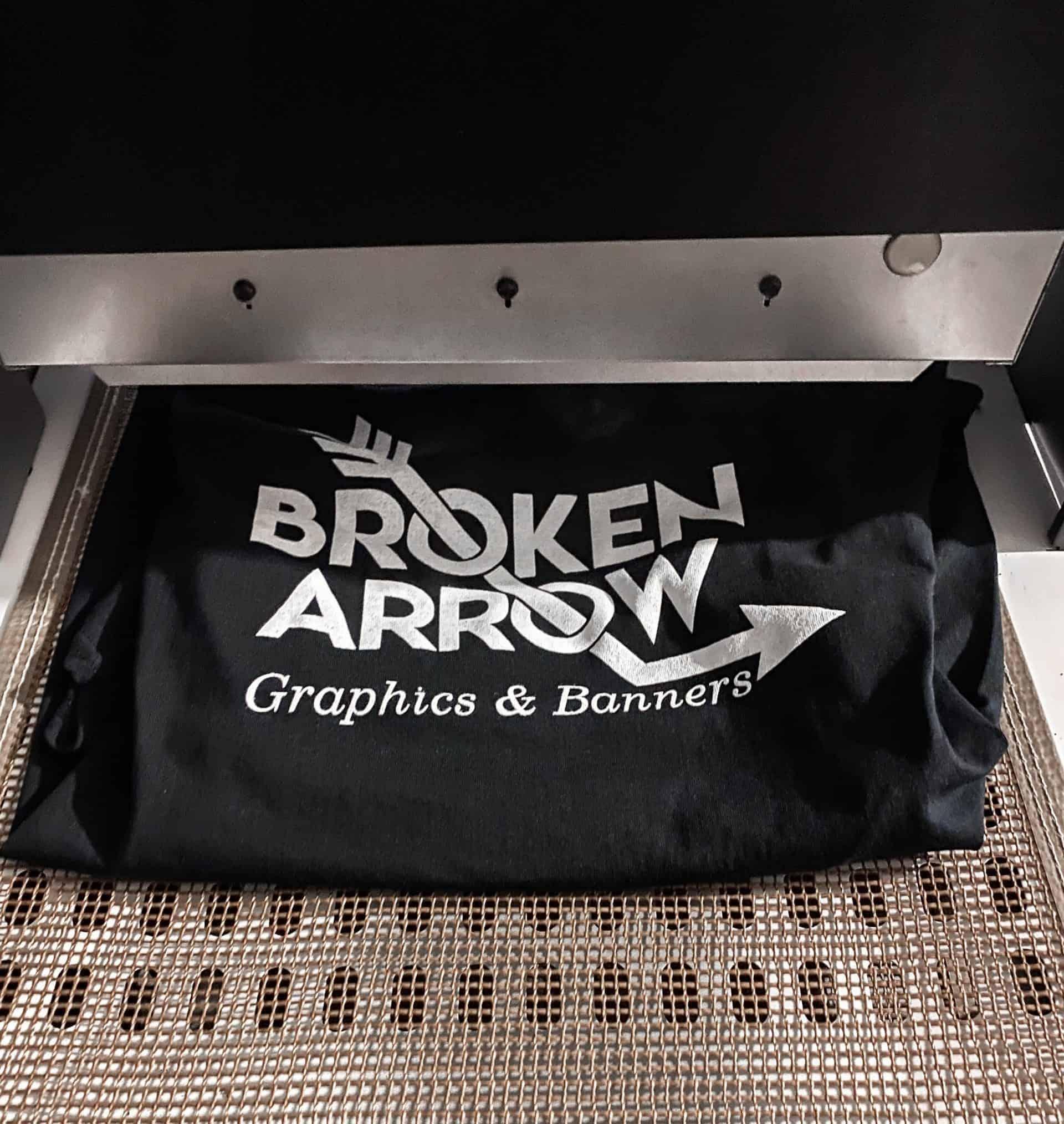 Custom Apparel in Broken Arrow
