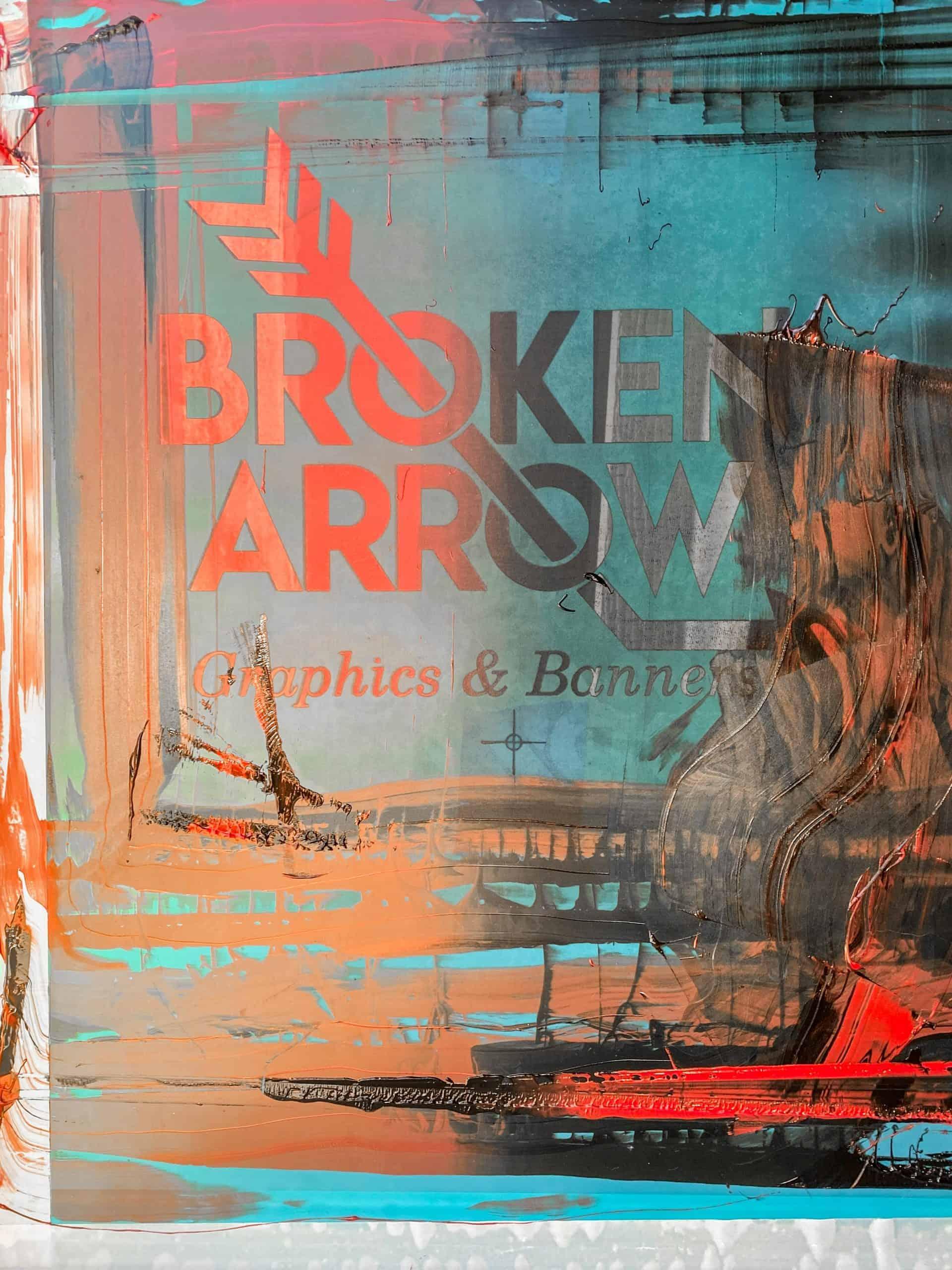 Screen Printing in Broken Arrow